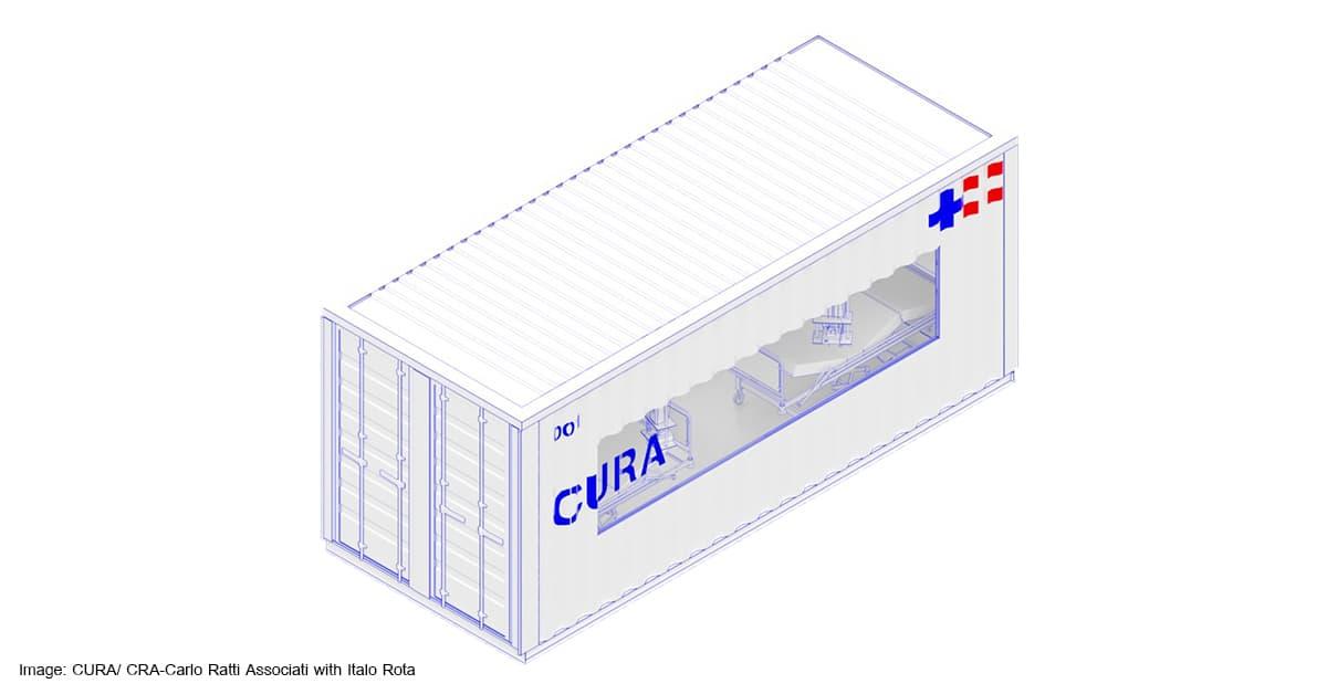 ชิปปิ้ง ชิปปิ้ง เมื่อตู้คอนเทนเนอร์กลายเป็นโรงพยาบาลรักษาผู้ป่วย COVID-19             2